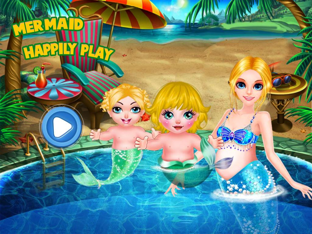 Mermaid Happily Play Apl Android Di Google Play