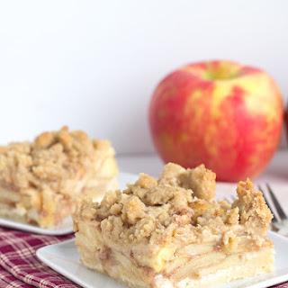 Apple Pie Crumb Bars