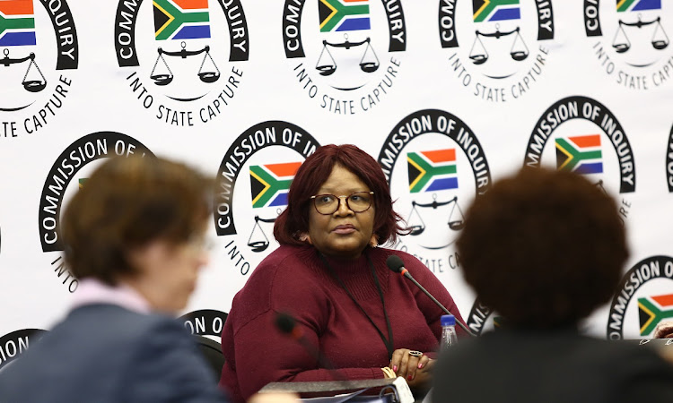 Vytjie Mentor appearing at the State Capture Inquiry. PICTURE: MASI LOSI
