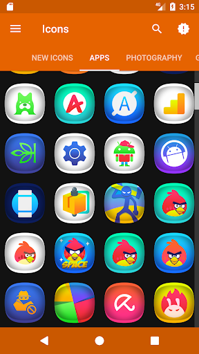 Fonry - Icon Pack app for Android screenshot
