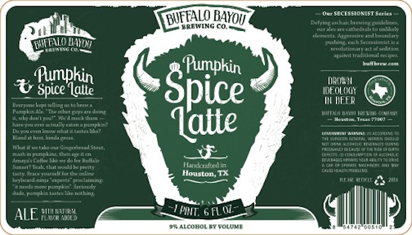 Logo of Buffalo Bayou Pumpkin Spice Latte