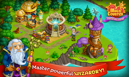 Magic City: fairy farm and fairytale country for Android apk 9