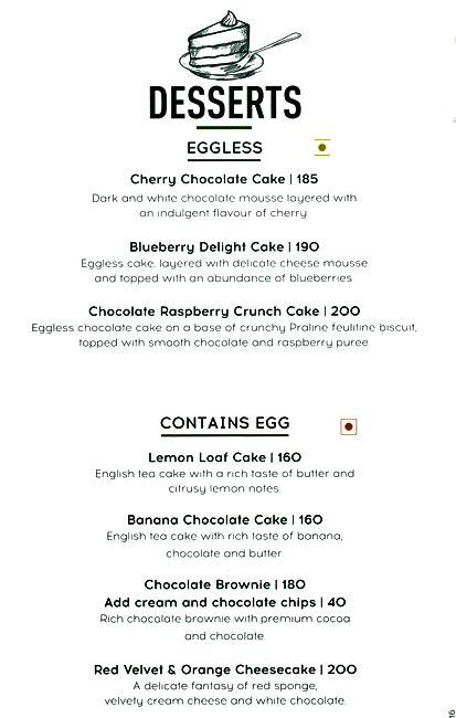 Starbucks menu 10