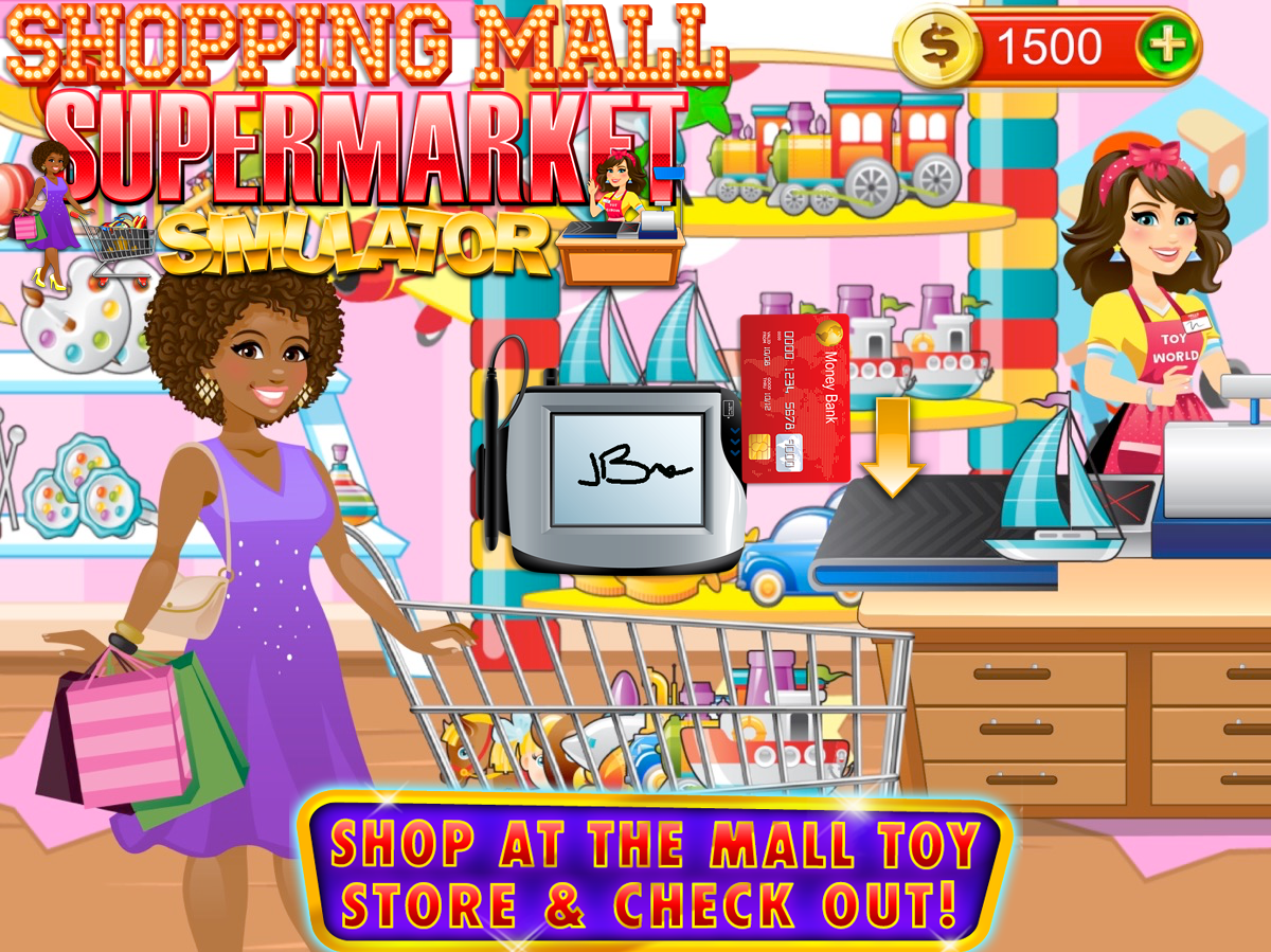 Mall & Supermarket Simulator- screenshot