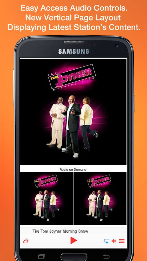 The Tom Joyner Morning Show- screenshot