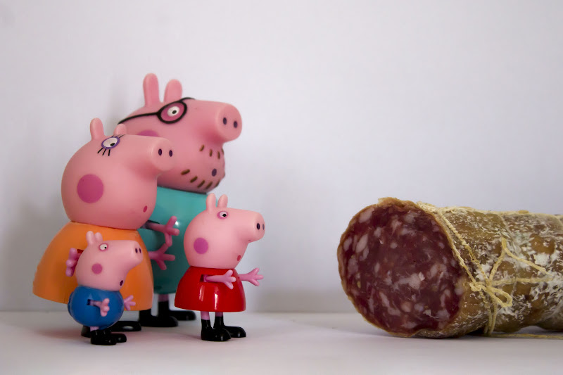 """Peppa, George... salutate il nonno"" di Desperate_Architect"