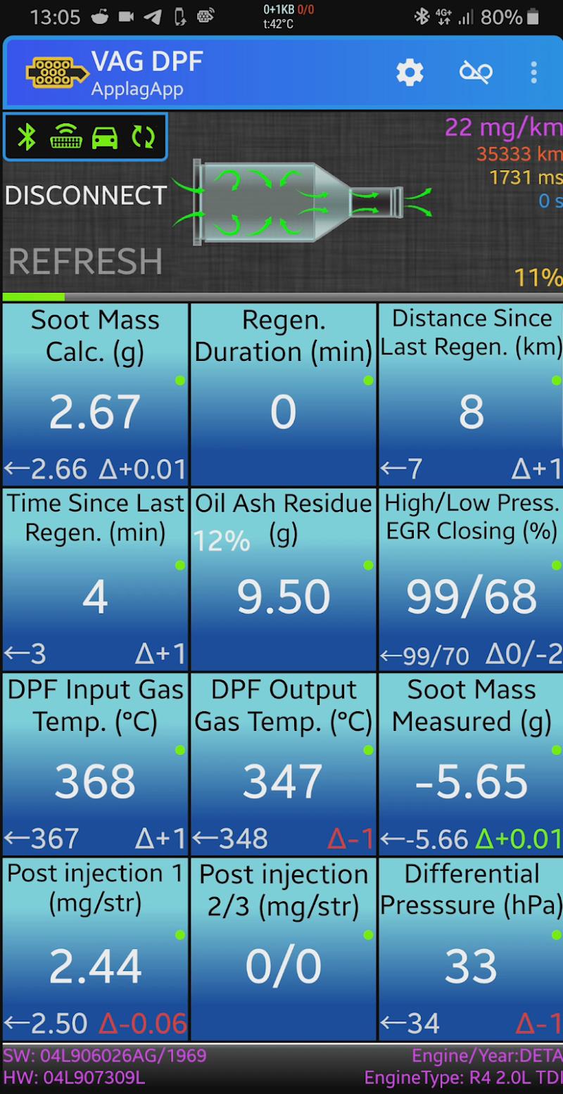 VAG DPF Screenshot 3