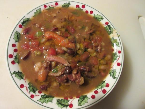 Complicated Bean Soup Recipe