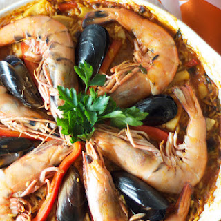 Seafood Paella Long Grain Rice Recipes