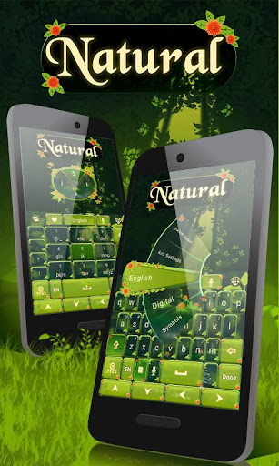 Natural GO Keyboard Theme