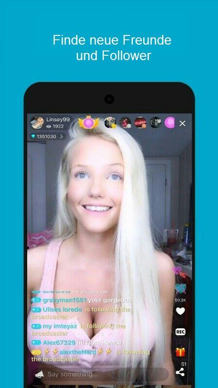 Live me - Live Stream Video Chat android apps download