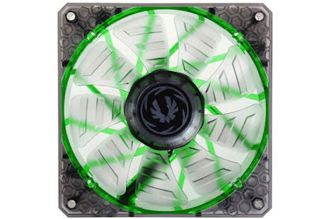 Bitfenix vifte m/grønn LED, Spectre PRO, 120x25