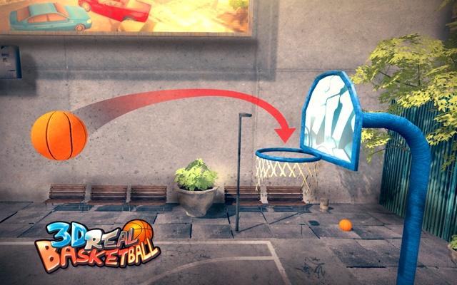 3D Real Basketball
