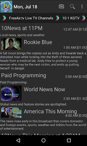 FreeAir.tv: Watch, Pause, Record Live TV anywhere 3.12.01 screenshots 4