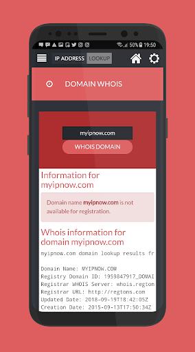 IP Address Geo LOOKUP & WHOIS - Domain, DNS, Speed App