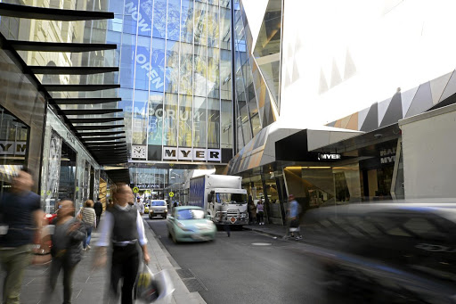 Big hitter: Myer, Australia's largest department store by sales. Picture: BLOOMBERG/CARLA GOTTGENS