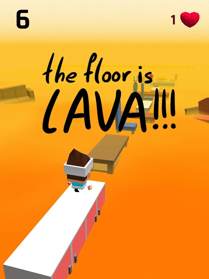The Floor Is Lava- screenshot