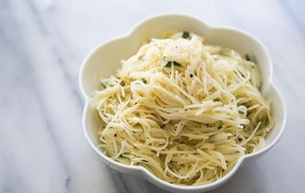 Angel Hair Pasta With Garlic Herbs And Parmesan Recipe