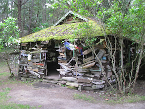 Photo: Trophy Hut, Wallace Island