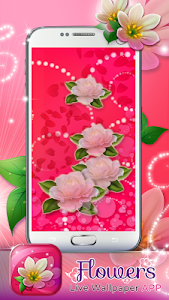 Flowers Live Wallpaper App screenshot 4