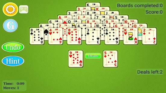 Pyramid Solitaire Mobile- screenshot thumbnail