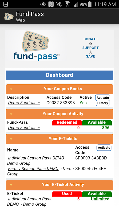 Fund-Pass- screenshot