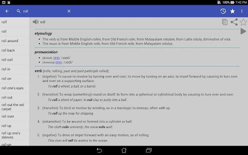 English Dictionary - Offline- screenshot thumbnail