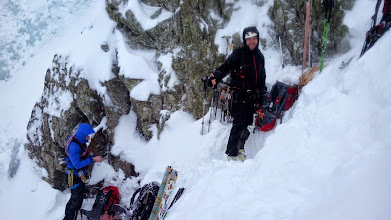 Photo: príprava na lezenie