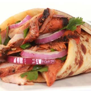 Chicken Tandoori Wrap.