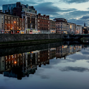 Dublin, Ireland by Elena Lashneva - City,  Street & Park  Vistas