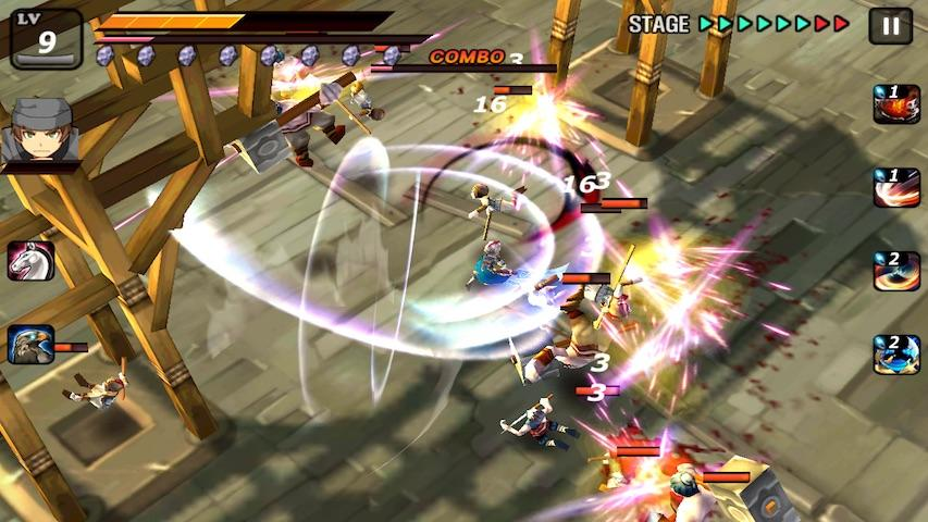 android Samurai Combat - 3D bataille Screenshot 0