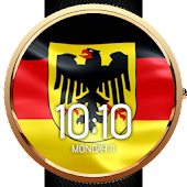 Animated German Flag Watchface