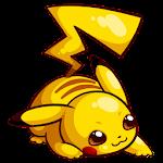 Running Pikachu Icon
