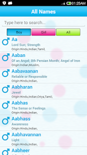Indian baby names meaning apps on google play screenshot image malvernweather Image collections