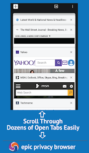 Epic Privacy Browser with AdBlock, Vault, Free VPN Apk Download For Android 4