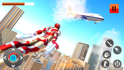 Iron Superhero War: Iron Robot Rescue Mission 2020 1.2.12 screenshots 13