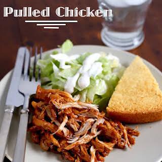 Pressure Cooker Pulled Chicken.