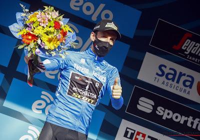 Slottijdrit Tirreno: Campenaerts strandt op 18 seconden van winnaar Ganna, Yates houdt stand en ziet nog verschuiving op het podium