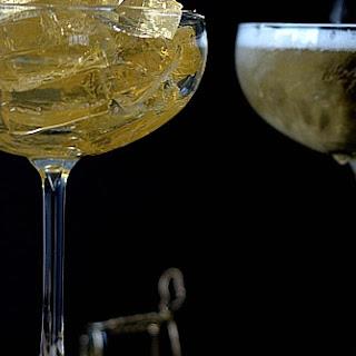 Champagne Jello Shots.