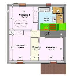 Terrain à bâtir 169 m2