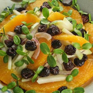 Kohlrabi and Orange Salad