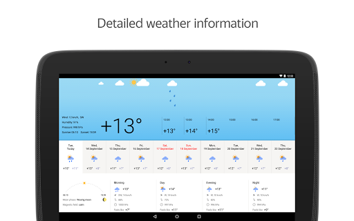 Yandex.Weather screenshot 11