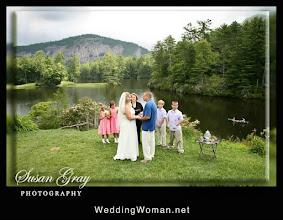 Photo: High Hampton Wedding - Cashiers, NC - Wedding Officiant, Marriage Minister, Notary, Justice Peace - Brenda Owen - http://www.WeddingWoman.net