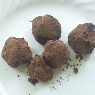 Pareve Chocolate Truffles.