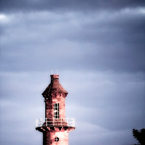 Pharos lighthouse Fleetwood by Peter Hearn - Buildings & Architecture Public & Historical ( pharos fleetwood lighthouse )