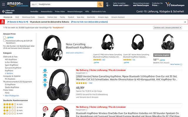 Amazon Shipping Check