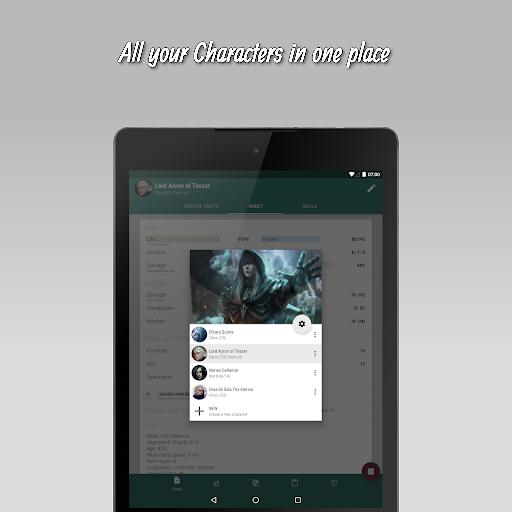 The 20 - RPG Companion App apktram screenshots 10