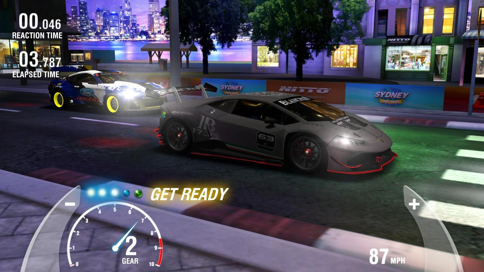 Nitto Car Racing Game