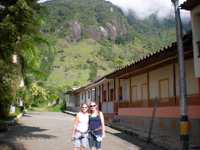 Photo: About to leave the paved streets for the 1,000 year old road to the waterfall