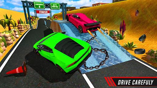 Chain Cars Speed Racing - Break Chain Driving  screenshots 3